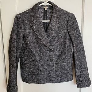 Jcrew boiled wool blazer